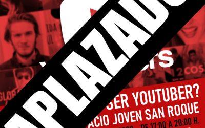 Aplazado hasta nueva fecha el curso para youtubers de Pueblo Nuevo ante las nuevas restricciones por Covid-19