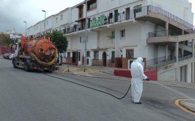 Un camión cisterna se suma a los recursos del Ayuntamiento para la desinfección de todo el municipio