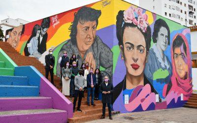 Inaugurado, coincidiendo con el Día contra la Violencia a las Mujeres, el mural de la Plaza por la Igualdad