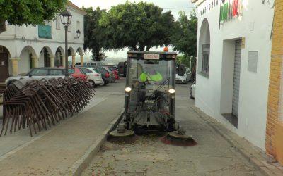 El operativo de Limpieza Viaria mantiene el plan de desinfección en todo el municipio