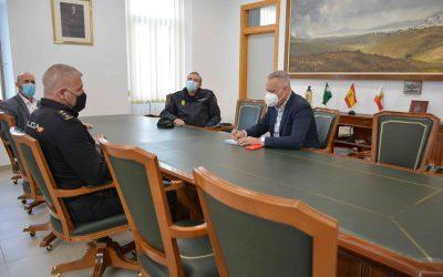 Recepción al nuevo comisario de Policía Nacional de La Línea