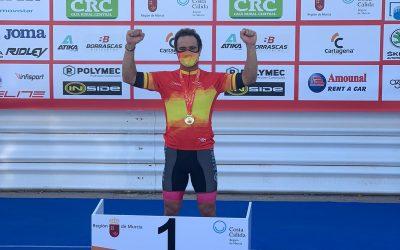 Óscar Higuera, nuevo campeón de España de Ciclismo Adaptado en Carretera 2020