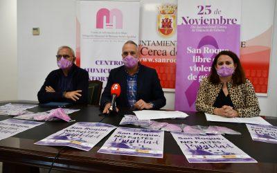 Presentados los actos del 25 de noviembre, Día contra la Violencia a las Mujeres