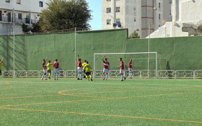 Cómoda victoria del Balón de Cádiz frente al CD San Roque, al que no le acompaña la suerte (0-4)