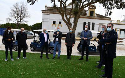 Visita a los trabajos de mejora en el Old Course del San Roque Club