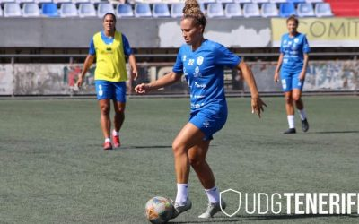 Patricia Gavira saborea el liderato de Primera División con su equipo
