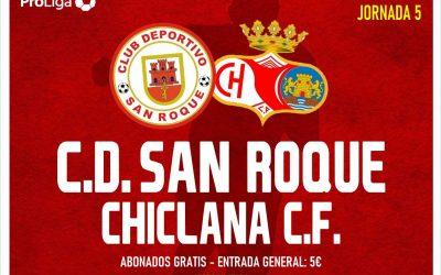 El domingo el CD San Roque se enfrenta al Chiclana CF en un partido en el que solo le vale la victoria