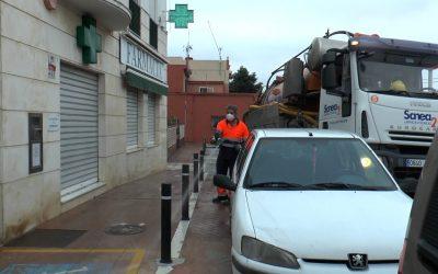 Farmacias y calles peatonales, atendidas en el plan de desinfección