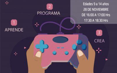 Juventud organiza un taller gratuito online de Creación de Videojuegos para edades de 8 a 14 años