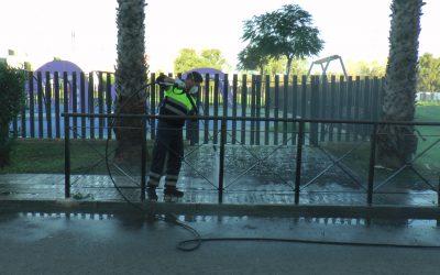 La desinfección de Limpieza Viaria, a diario y por todo el municipio