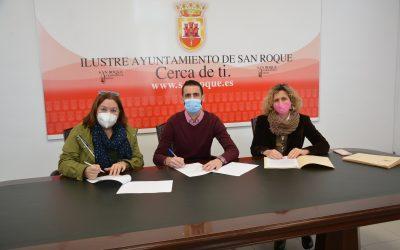 """Firmados convenios con Asansull, La Cañada y """"Solidaridad"""""""