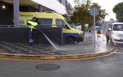 Nuevo repaso a la desinfección de los centros de salud del municipio