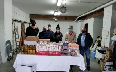 Empresas donan alimentos para el Programa Municipal de Garantía Alimentaria