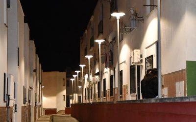 Cambios a led en la iluminación en El Calvario