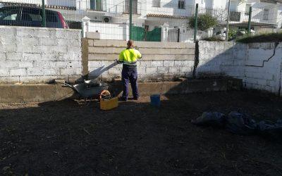 Obras de mantenimiento en los colegios Gloria Fuertes de Infantil y Primaria