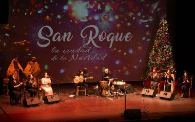 La zambomba de Felipa de Moreno trajo la Navidad flamenca al Teatro