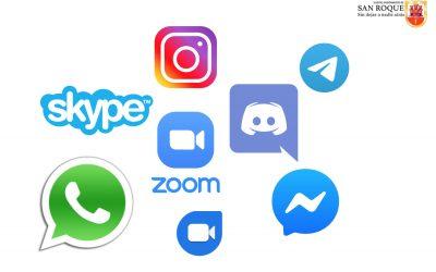 El Ayuntamiento recomienda aplicaciones para mantenerse en contacto por internet