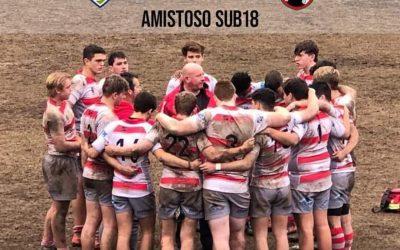 Buenas sensaciones en el debut de pretemporada para el Sub 18 de Rugby del Estrecho