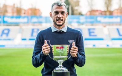 Merecido y trabajado Trofeo Zarra para el futbolista sanroqueño Juan Diego Molina Martínez 'Stoichkov'