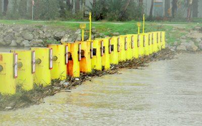 El alcalde insta a la APBA a que limpie la barrera antinarcos para evitar inundaciones en Guadarranque
