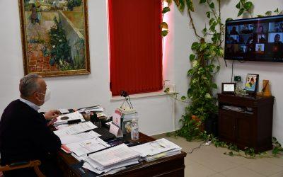 La comisión municipal de seguimiento del covid de San Roque, ofrece a la Junta cooperación en la vacunación