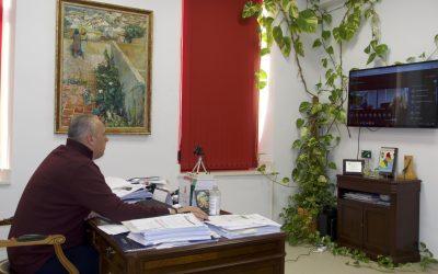 Reunión de la Consejería de Salud con los ocho alcaldes ante el aumento del covid en la comarca