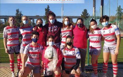 El equipo femenino de Rugby del Estrecho logra el quinto puesto en la primera cita del Torneo de Promoción