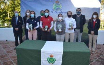 La Escuela Municipal La Cañada deja patente su sello de calidad en la Copa de Andalucía Masculina y Femenina de Golf
