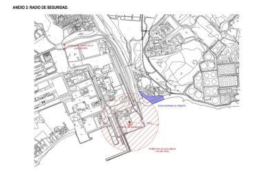 El Ayuntamiento incide en la precaución que debe tener la población ante la voladura, mañana jueves, de un silo en el puerto de Endesa