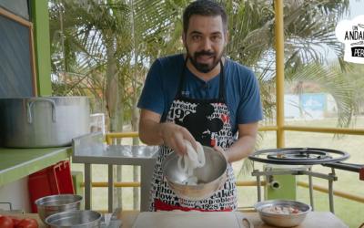 """""""Un andaluz en Perú"""", programa de cocina del sanroqueño Antonio Moya"""