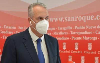 El alcalde denuncia discriminación del SAS en el Campo de Gibraltar