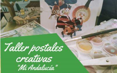 """El lunes comienza """"Postales Creativas. Mi Andalucía"""", un taller online de Cultura dirigido a público infantil"""