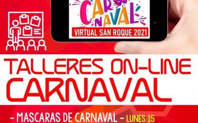 Mañana, miércoles, taller del Carnaval Virtual para aprender a hacer pulseras y collares