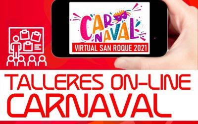 "Mañana lunes, primer taller del Carnaval Virtual sobre ""Máscaras de Carnaval"""