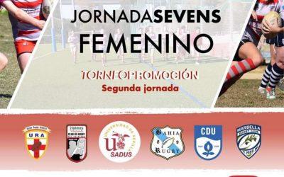 Rugby del Estrecho viaja mañana a Almería para participar en la segunda jornada del Torneo de Promoción Seven Femenino