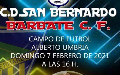 Sámber vs. Barbate, el partido del domingo en el Alberto Umbría