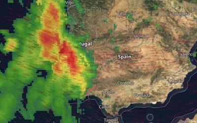 Sin incidencias de interés por el momento, en una jornada marcada por las fuertes precipitaciones