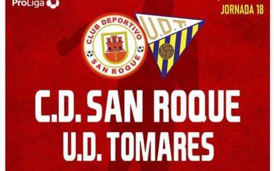 CD San Roque – UD Tomares, un partido con mucho morbo para terminar la fase regular de grupos