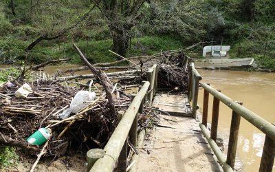 El temporal de lluvia deja numerosas incidencias repartidas en todo el municipio