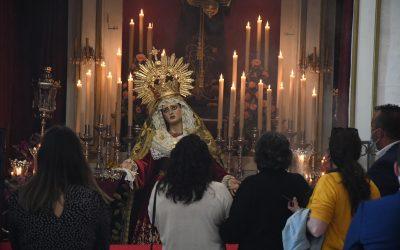 Visita oficial a la Veneración de Imágenes en la parroquia Santa María Coronada