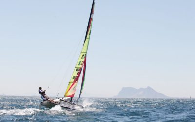 La Copa de Andalucía de Catamaranes se disputa este fin de semana en aguas de Sotogrande
