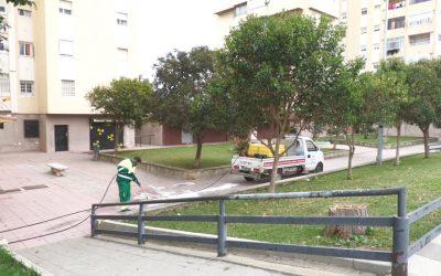 El plan de desinfección, pendiente de las calles y plazas más concurridas