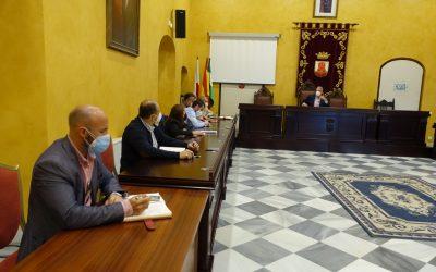 El Equipo de Gobierno analiza distintas obras en San Roque
