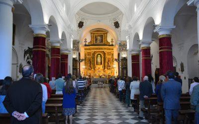 Solemne Eucaristía del Domingo de Resurrección, celebrada en Santa María la Coronada