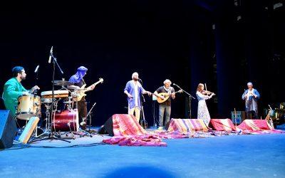 La Banda Morisca celebró anoche la dicha de tocar ofreciendo un magnífico concierto en el Galiardo