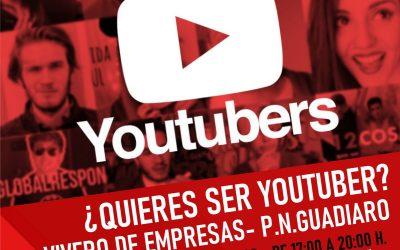 Mañana miércoles 28, curso gratuito para youtubers en el Vivero de Empresas de Pueblo Nuevo