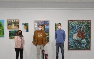 Inaugurada en el Espacio Joven la exposición de Andrés Ojeda Troya