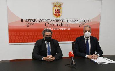 Ruiz Boix coincide con el senador Gutiérrez en la necesidad de fluidez en la inexistente frontera con Gibraltar