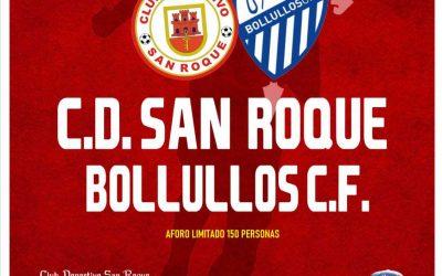 El CD San Roque, obligado a ganar al Bollullos C.F. este domingo