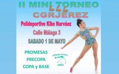 La gimnasia rítmica sanroqueña vuelve a la competición en Jerez, mañana sábado
